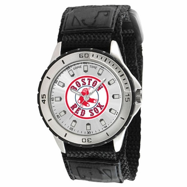 Boston Red Sox (Circle Logo) Mens Veteran Watch