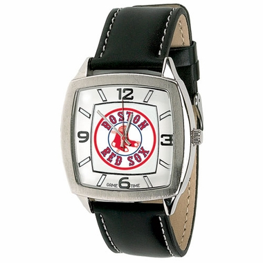 Boston Red Sox (Circle Logo) Retro Mens Watch