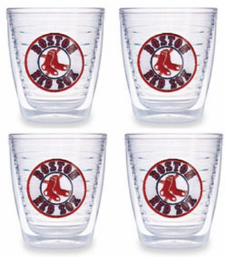 Boston Red Sox (Circle Logo) Set of FOUR 12 oz. Tervis Tumblers