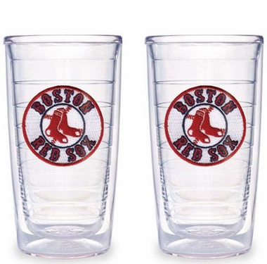 Boston Red Sox (Circle Logo) Set of TWO 16 oz. Tervis Tumblers