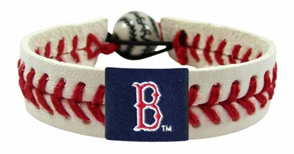 Boston Red Sox Classic Baseball Bracelet