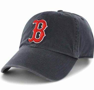 Boston Red Sox Clean Up Adjustable Hat - Navy