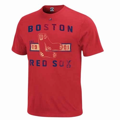 Boston Red Sox Cooperstown Desire More Premium Soft T-Shirt - Red
