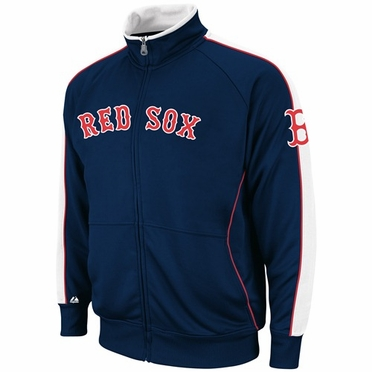Boston Red Sox Cooperstown Profector Full Zip Track Jacket