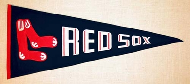 Boston Red Sox Cooperstown Wool Pennant