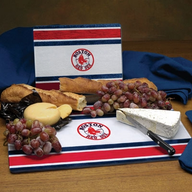 Boston Red Sox Cutting Board Set