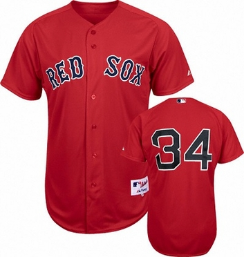 Boston Red Sox David Ortiz Replica Player Jersey (Alternate)