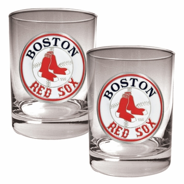 Boston Red Sox Double Rocks Set