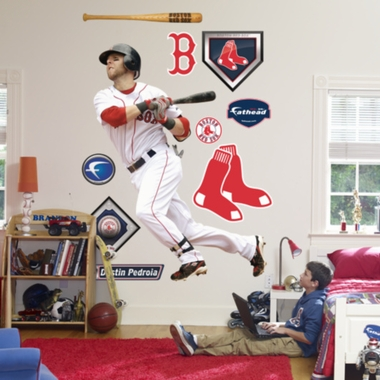 Boston Red Sox Dustin Pedroia Fathead Wall Graphic