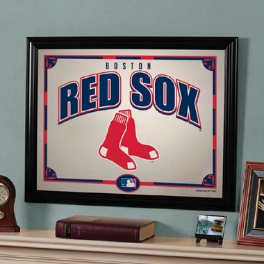 Boston Red Sox Framed Mirror