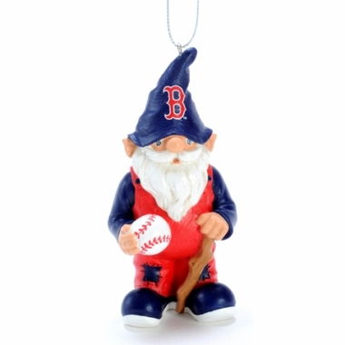 Boston Red Sox Gnome Christmas Ornament