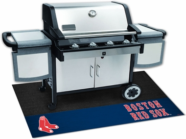 Boston Red Sox Grill Mat