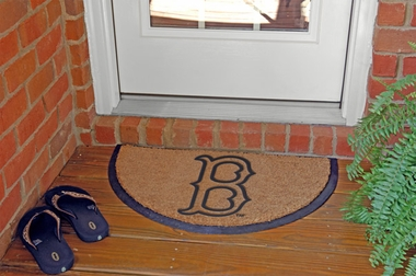 Boston Red Sox Half Moon Door Mat