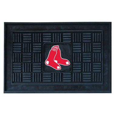 Boston Red Sox Heavy Duty Vinyl Doormat