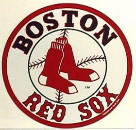 Boston Red Sox Individual Car Magnet