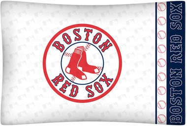 Boston Red Sox Individual Pillowcase
