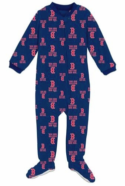 Boston Red Sox Infant Footed Coverall Sleeper