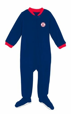 Boston Red Sox Infant Footed Sleeper Pajamas