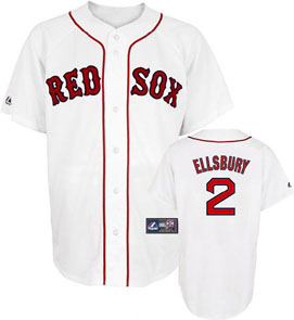 Boston Red Sox Jacoby Ellsbury Replica Player Jersey - Large