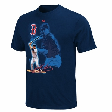 Boston Red Sox Kevin Youkilis YOUTH Player of the Game T-Shirt