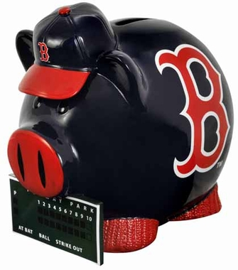 Boston Red Sox Large Thematic Piggy Bank
