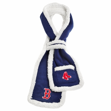 Boston Red Sox MLB Team Sherpa Scarf