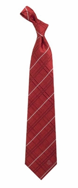 Boston Red Sox Oxford Stripe Woven Silk Necktie