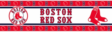 Boston Red Sox Peel and Stick Wallpaper Border