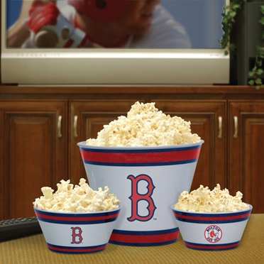 Boston Red Sox Plastic Serving Set