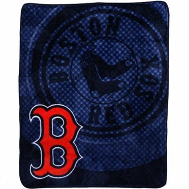 Boston Red Sox Plush Blanket