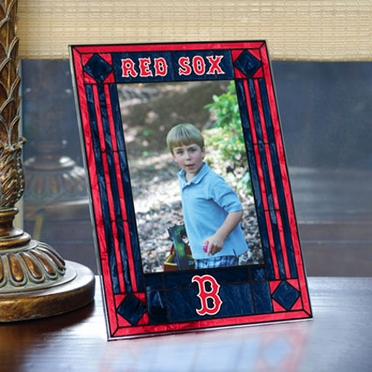 Boston Red Sox Portrait Art Glass Picture Frame
