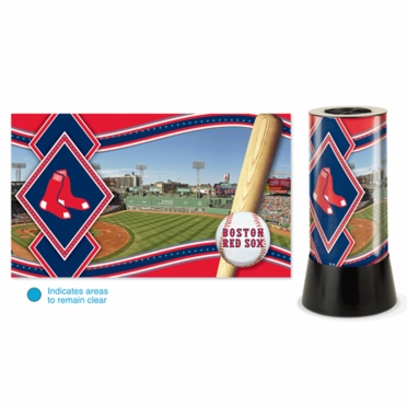 Boston Red Sox Rotating Lamp