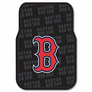 Boston Red Sox Set of Rubber Floor Mats