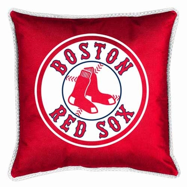 Boston Red Sox SIDELINES Jersey Material Toss Pillow