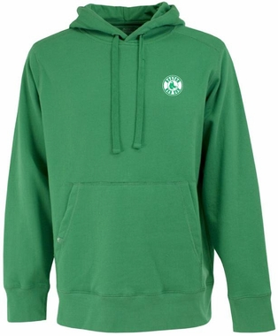 Boston Red Sox Mens Signature Hooded Sweatshirt (Color: Green)
