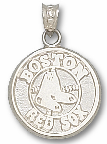 Boston Red Sox Sterling Silver Pendant