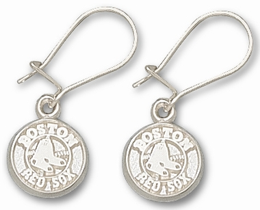 Boston Red Sox Sterling Silver Post or Dangle Earrings