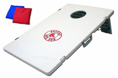 Boston Red Sox Tailgate Toss 2.0 Cornhole Beanbag Game