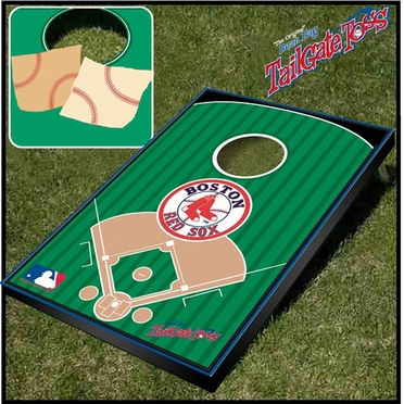 Boston Red Sox Tailgate Toss Cornhole Beanbag Game