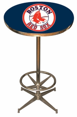 Boston Red Sox Team Pub Table