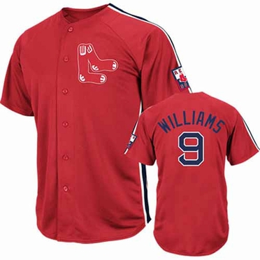 Boston Red Sox Ted Williams Crosstown Rivalry Cooperstown Jersey