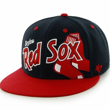 Boston Red Sox Underglow MVP Snap Back Hat