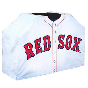 Boston Red Sox Uniform Grill Cover