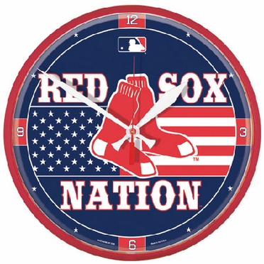 Boston Red Sox Wall Clock (Red Sox Nation)