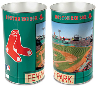 Boston Red Sox Waste Paper Basket