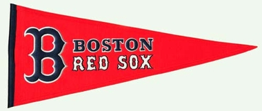 Boston Red Sox Wool Pennant