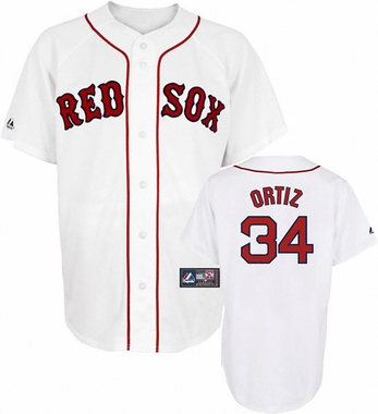 Boston Red Sox YOUTH David Ortiz Replica Player Jersey