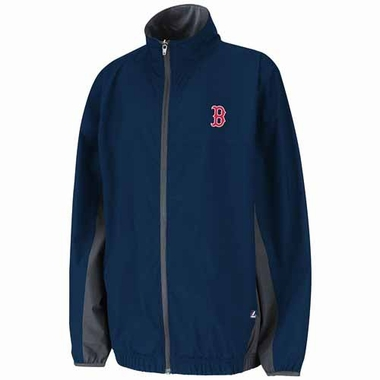 Boston Red Sox YOUTH Springtide Full Zip Lightweight Water Resistant Jacket