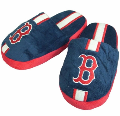 Boston Red Sox YOUTH Team Stripe Slide Slippers