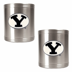 Brigham Young 2 Can Holder Set